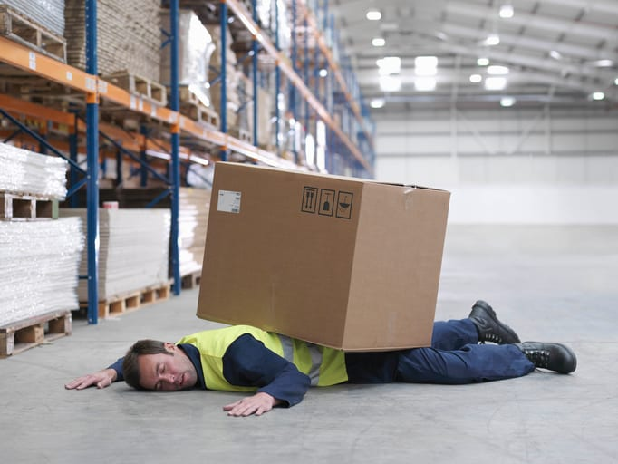 Law Office of Tipton-Downie Worker Flattened By Box In Warehouse